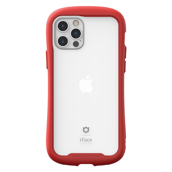 Original Korean iFace Reflection Glass | iPhone 12 Pro Max (6.7) - Red