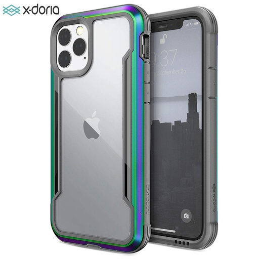 [370402935001] X-doria Raptic Shield | iPhone 12 (6.7) - Iridescent