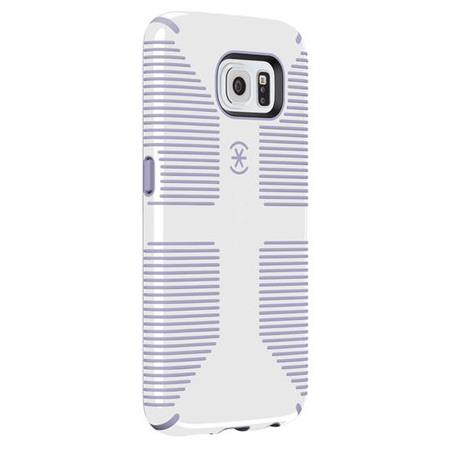 [SPK-A3951] Speck CandyShell Grip | Samsung Galaxy S6 - White/Purple [BW-L12]