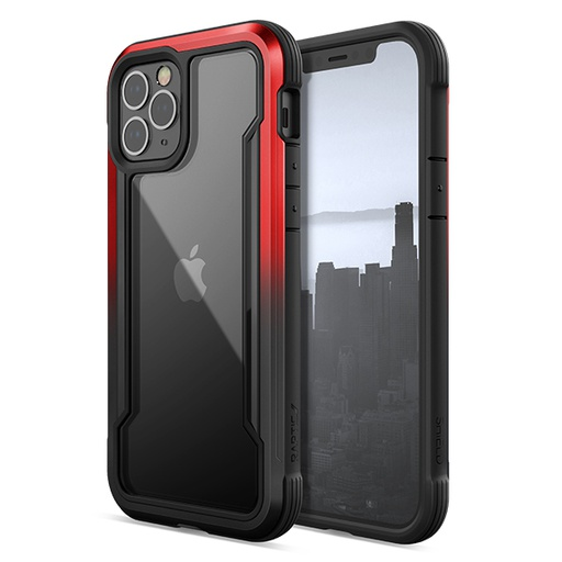 [370402836002] X-doria Raptic Shield | iPhone 12 (6.1) - Red/Black Radiant