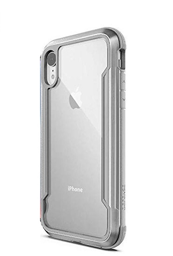 [3X3C02C6B] X-doria Defense Shield | iPhone XR - Silver