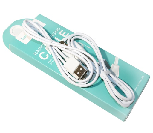 [BC-31284] Hoco X1 | 2 Micro Cables in 1 Box Bundle - White