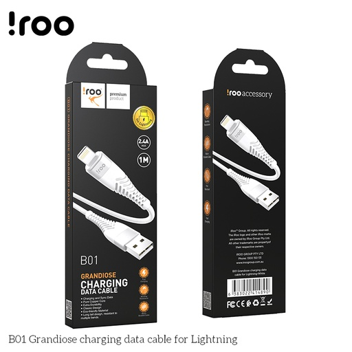 [BC-31287] iRoo B01 | Grandiose Lightning Cable - 1M