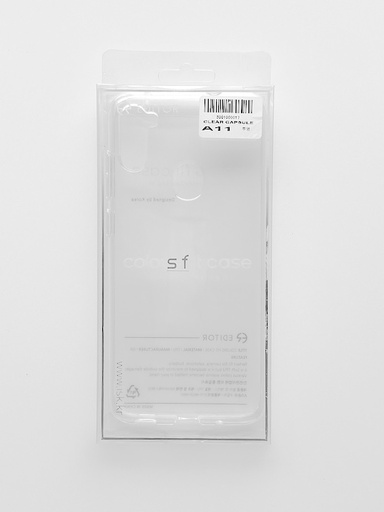 [BC-31341] Mercury Transparent Capsule | Samsung A70 - Clear