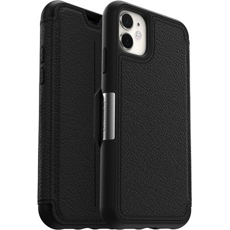 [77-65371] OtterBox Strada Folio | iPhone 12 (6.1) - Black