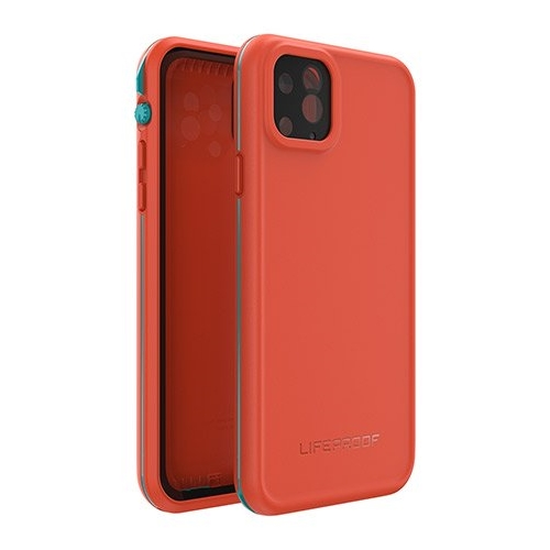 [77*62612] Lifeproof FRE Rugged/Drop/Water Proof | iPhone 11 Pro Max (6.5) - Red/Organe