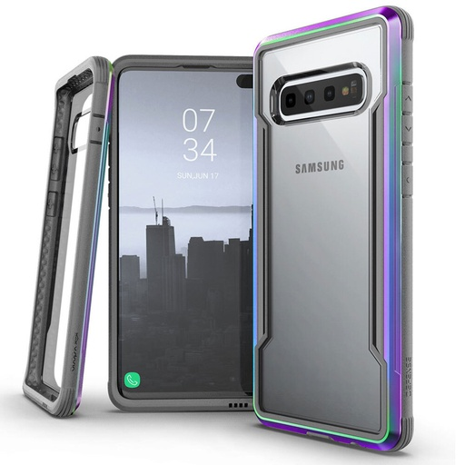 [370404509002] X-Doria Defense Shield | Samsung Galaxy S10 Plus - Iridescent