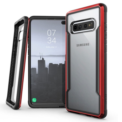 [370404519001] X-Doria Defense Shield | Samsung Galaxy S10 - Red