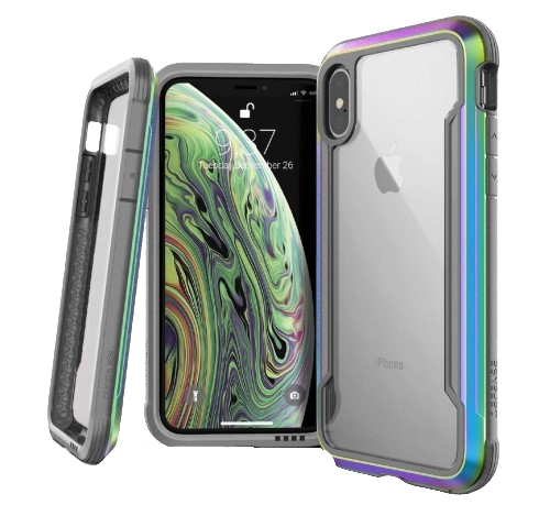 [3X2C0694A] X-doria Defense Shield | iPhone X/Xs - Iridescent