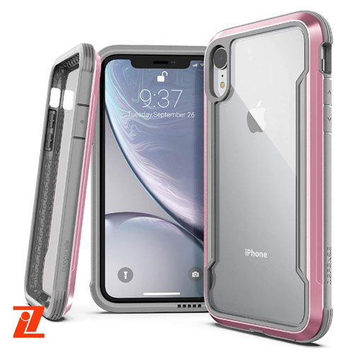 [3X2C02C7B] X-doria Defense Shield | iPhone X/Xs - Rose Gold