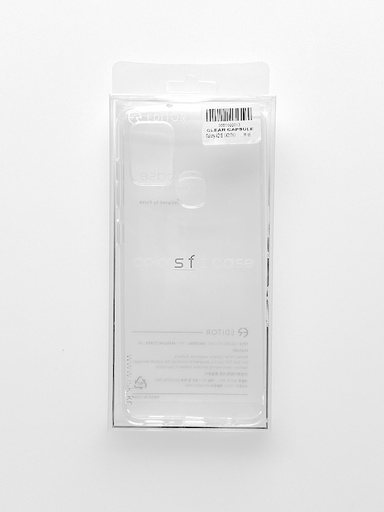 [BC-31533] Roar Transparent Jelly | Samsung S8 - Clear